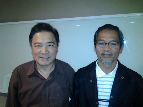 ...and Pas Sam of Baguio (Right)