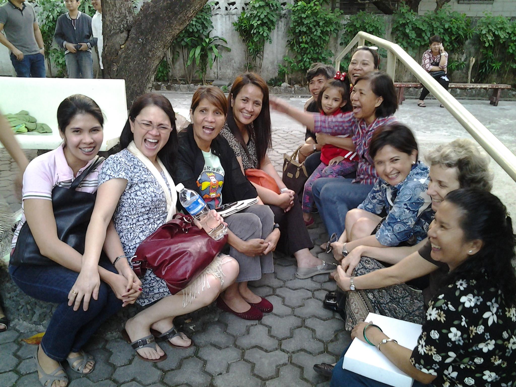 ladies having fun