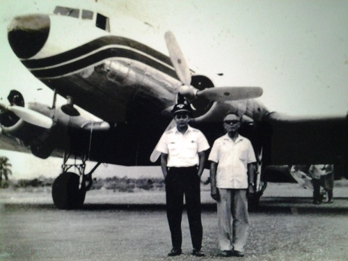 Landing a Sturdy Fairways DC-3 at Difficult Iligan Balo-i in the 60s; Welcomed by His Father
