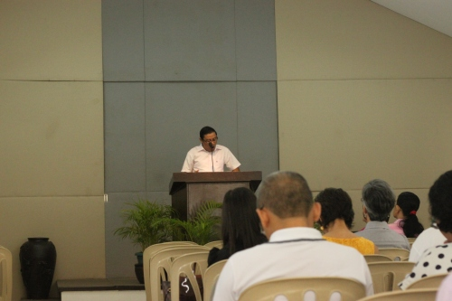 Pas. Diego Preaches on Love