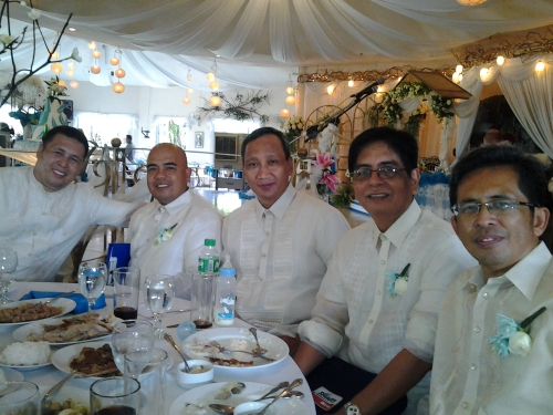 With Pastors Alan, Nelmar, Andy and Bro Jojo