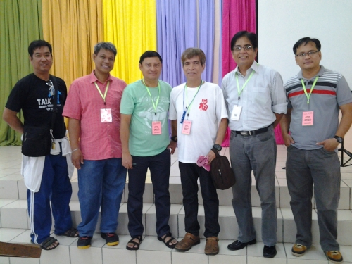 With Camp Organizers