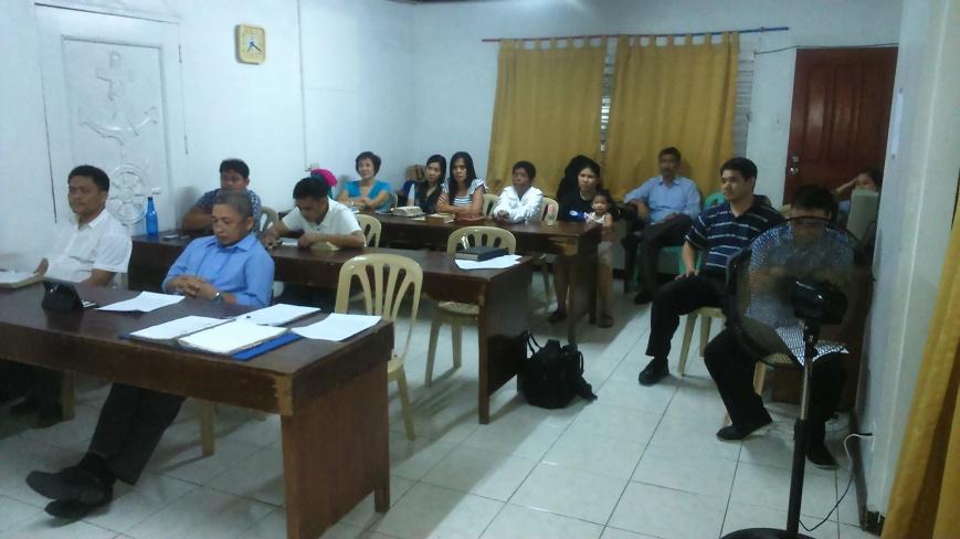 Preaching Clinic (3-3-15)