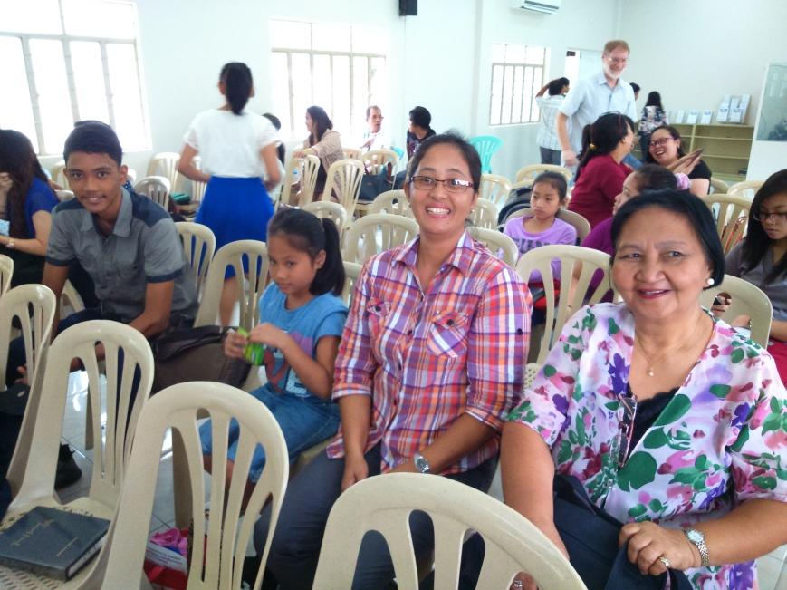 Brethren from Kalibo and Cainta churches