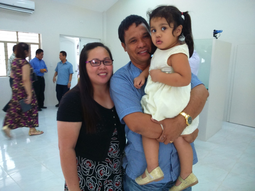 James and former member Janeth from San Pedro Church