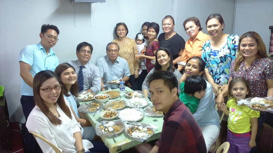 My family and the MGBC family. Warm fellowship!