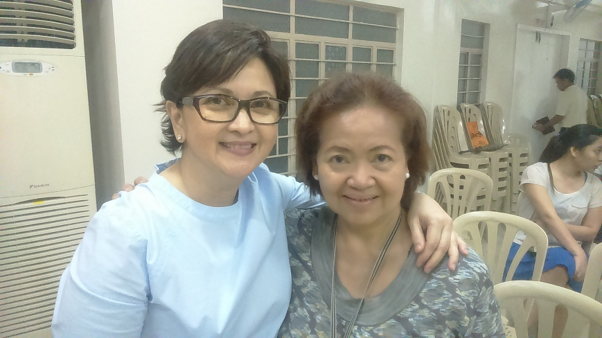 Meanwhile at MCBC, Maling and Chabby celebrate their bday after prayer meeting (11-05).