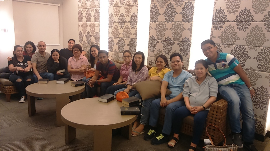 They were an attentive group. Majority are first-timers to Bible study.