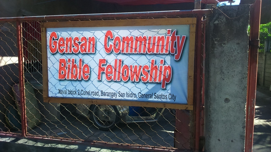 Our Mission Work in Gensan City