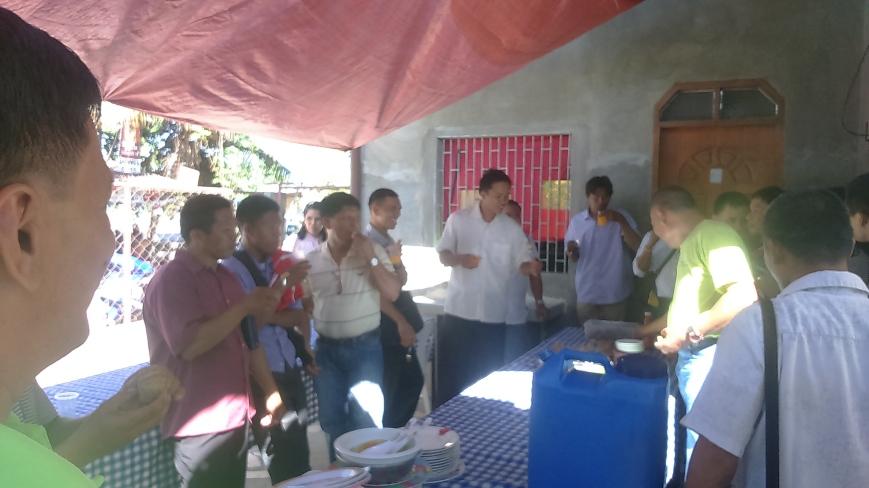 Discussion on Tongue-Speaking During Merienda