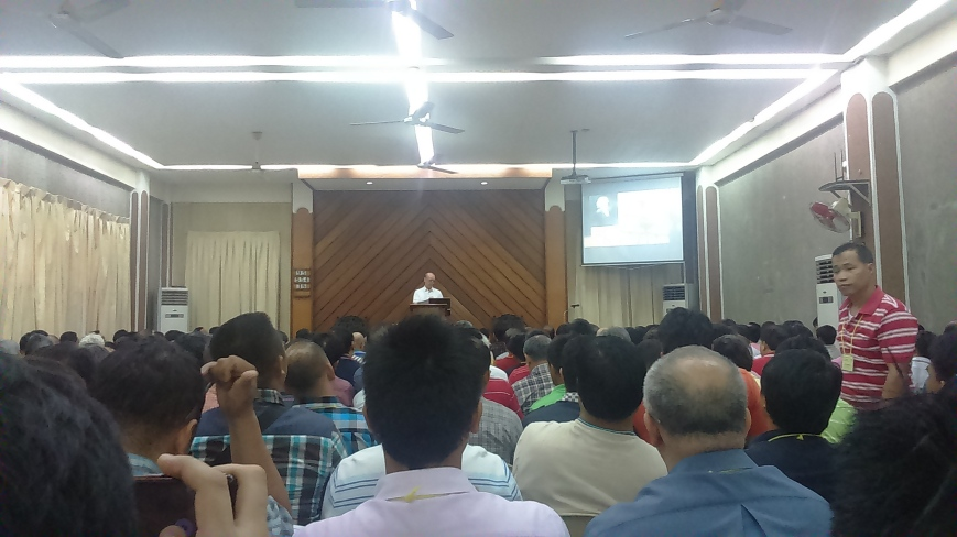 Pas Mitch Lust on John Newton at Cubao Pastors Conference (2-3)