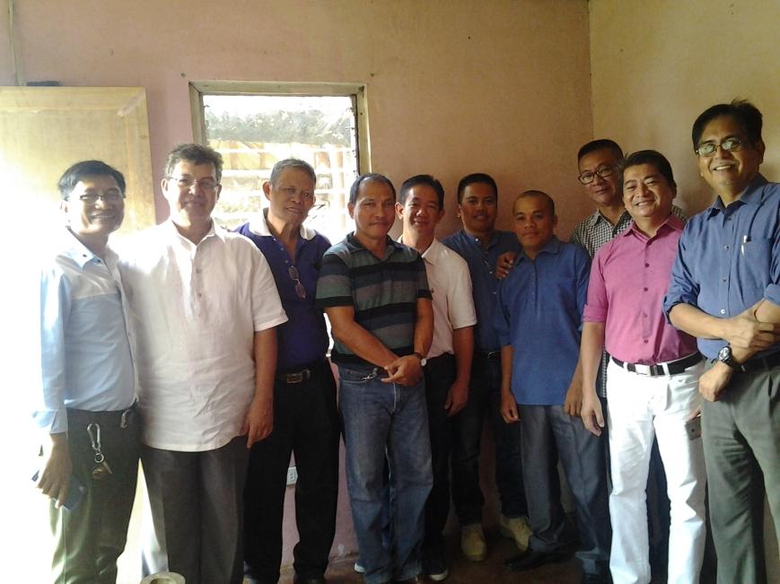 The Men During Prayer Time