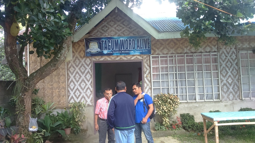 Venue was a Pentecostal church of pastor who attends our RBIPT module