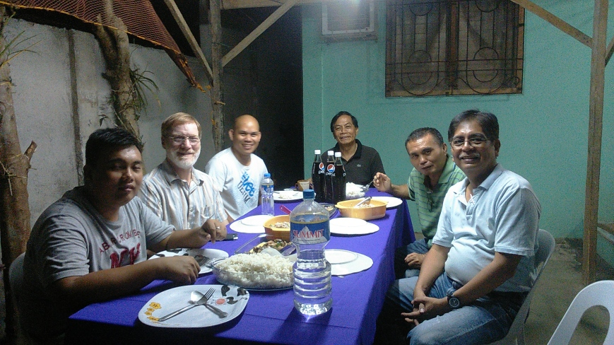 Dinner with Two Influential Reforming Pastors in Tagum