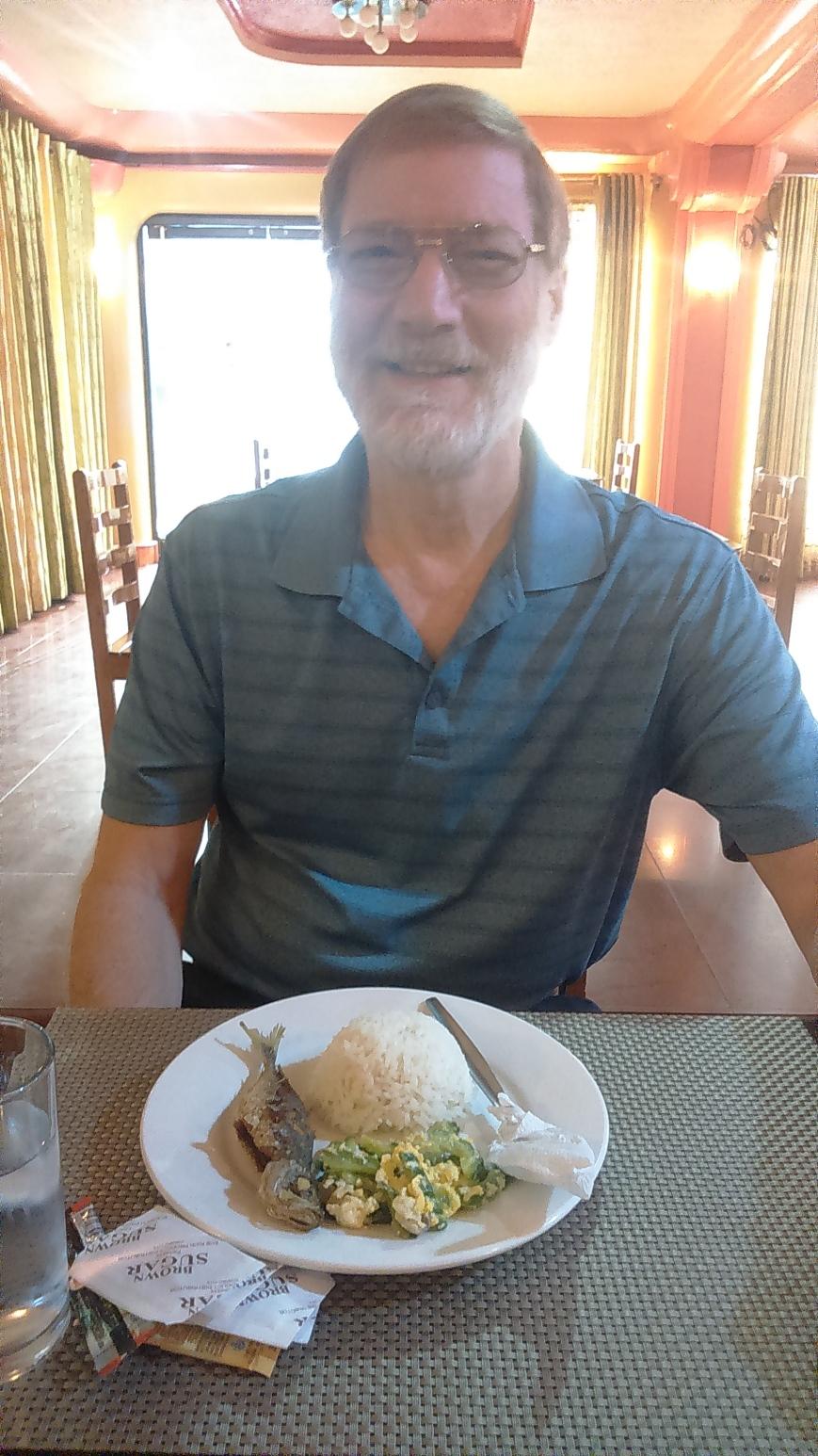 For a Change: Enjoying Fried Matambaka and Ampalaya for Breakfast