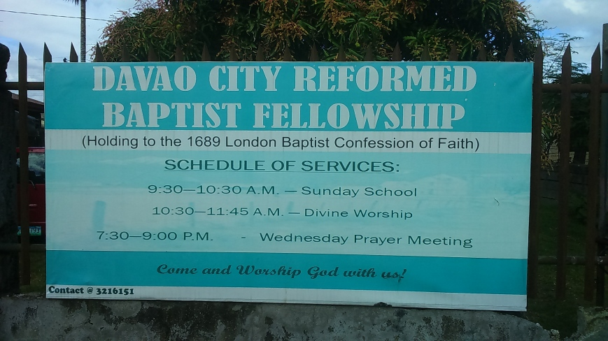 I also visited our mission work in Davao at Green Meadows Subdivision, Mintal