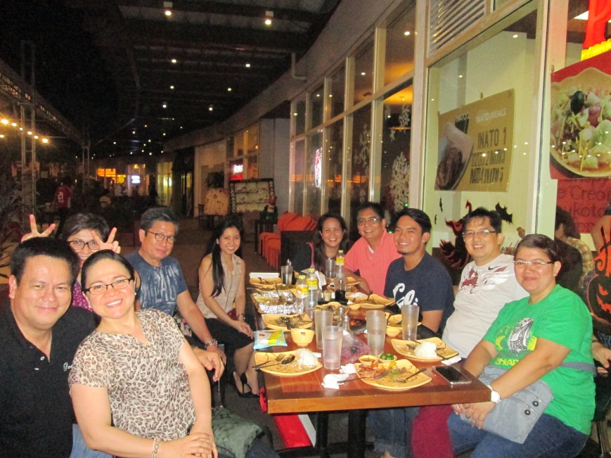Maling treats us to dinner at Abreeza as advanced celebration of her birthday;