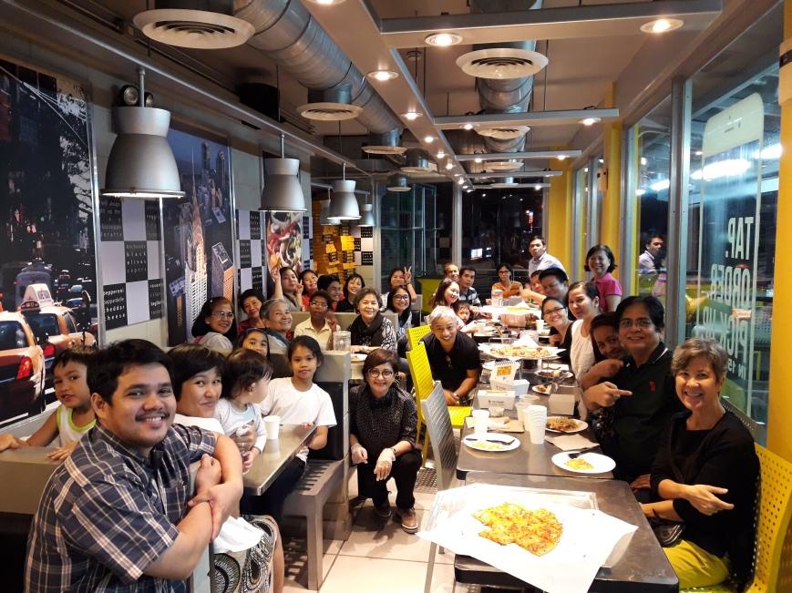 Fellowship at Yellow Cab Afterwards