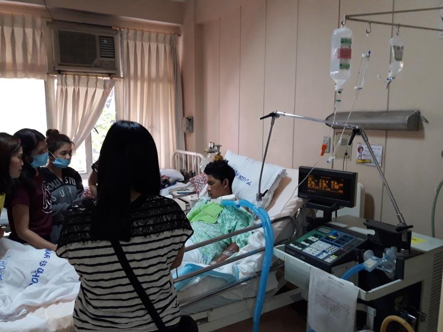 Hospital Visitation 1-2-17