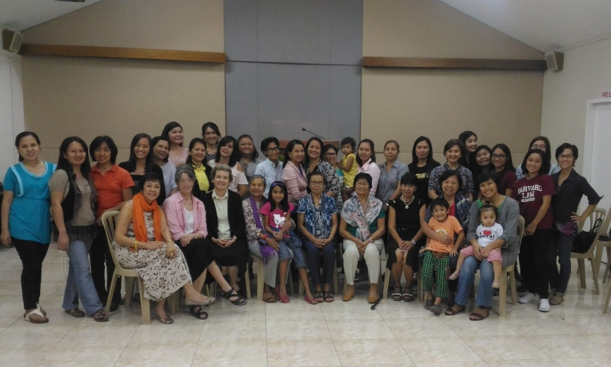 Women's Fellowship-35 adult attenders (012817) - On Controlling Thoughts and